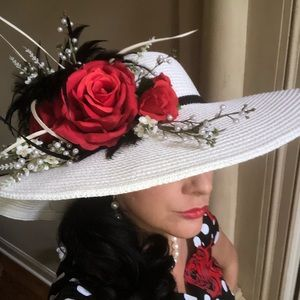 Accessories - Fabulous Kentucky Derby, Easter, Sunday Hat!!
